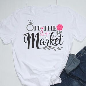 Off The Market Engagement Printed T-Shirt